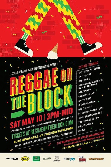 Reggae On The Block 2014