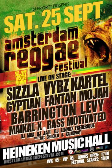Amsterdam Reggae Festival 2010
