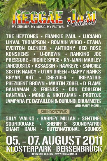 Reggae Jam 2011