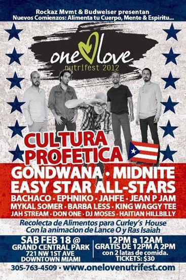 One Love Nutrifest 2012