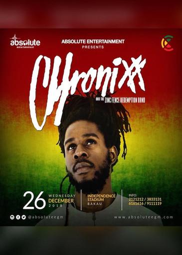 Chronixx 12-26-2018