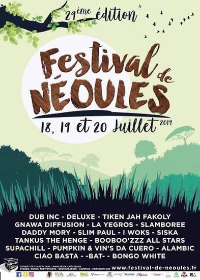 Festival De Néoules 2019