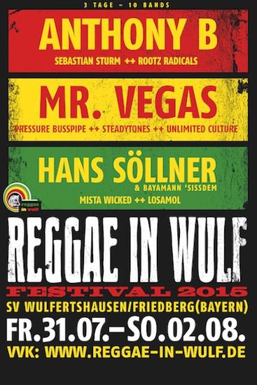 Reggae In Wulf 2015