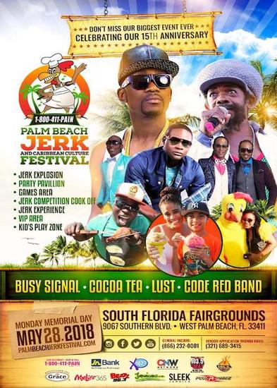 Palm Beach Jerk Festival 2018