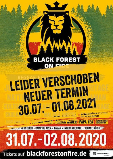 POSTPONED: Black Forest On Fire 2020