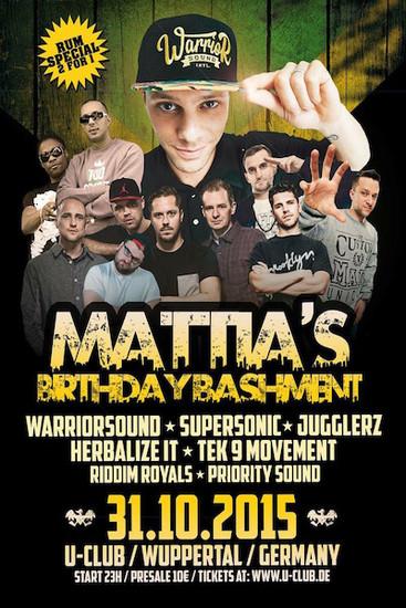 Mattia's Birthday Bash 2015