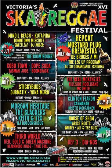 Victoria's Ska Reggae Festival 2015