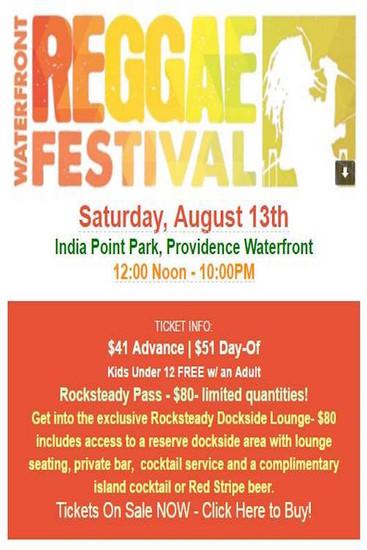 Waterfront Reggae Festival 2016