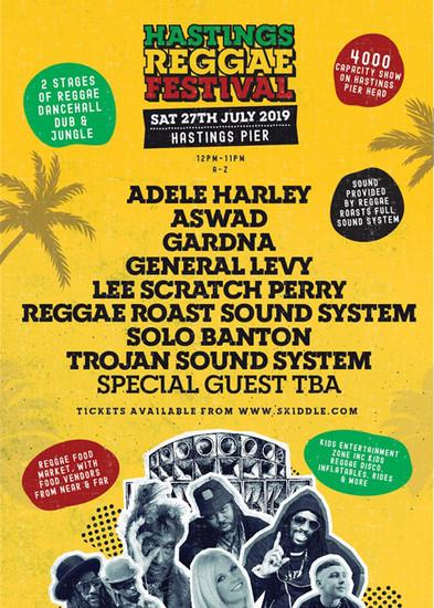 Hastings Reggae Festival 2019