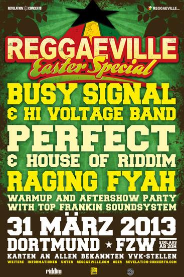 Reggaeville Easter Special - Dortmund 2013