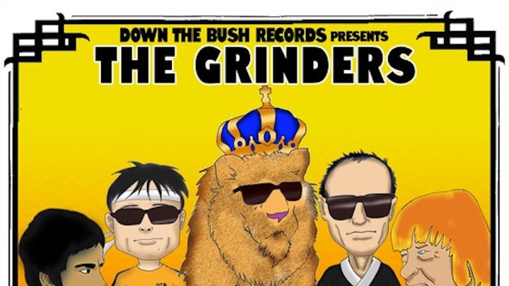 The Grinders - Way Of The Lion (Full Album) [11/10/2016]