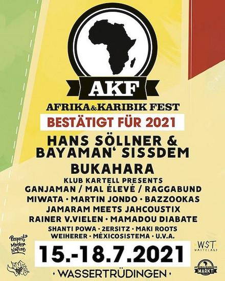 CANCELLED: Afrika Karibik Fest 2021