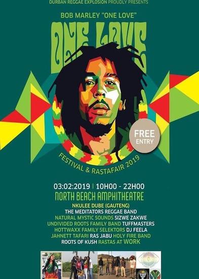 Bob Marley One Love Festival & Rastafair 2018