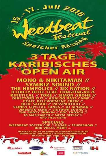 Weedbeat 2016
