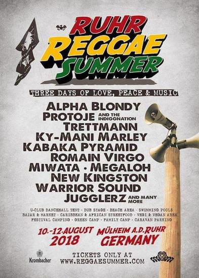 Ruhr Reggae Summer 2018