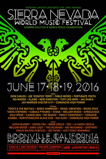 Sierra Nevada World Music Festival 2016