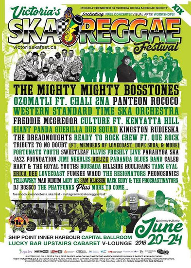 Victoria's Ska & Reggae Festival 2018