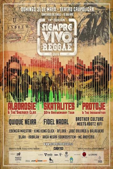 Siempre Vivo Reggae 2015
