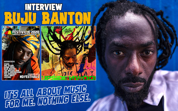 Buju Banton - The Upside Down 2020 Interview