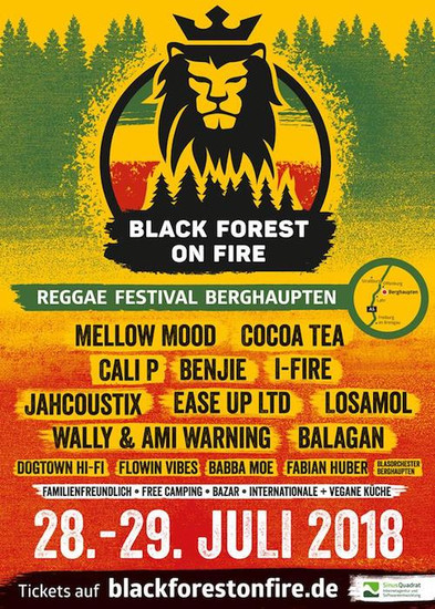Black Forest On Fire 2018