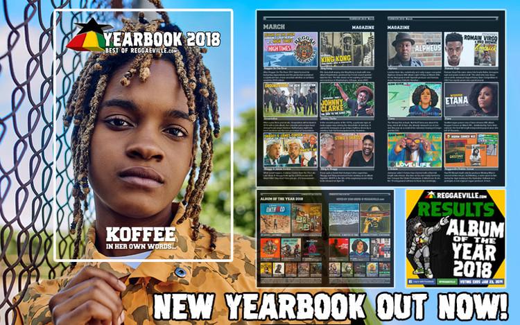 Koffee @Reggaeville Yearbook 2018
