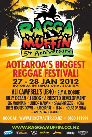 Raggamuffin Festival NZ 2012