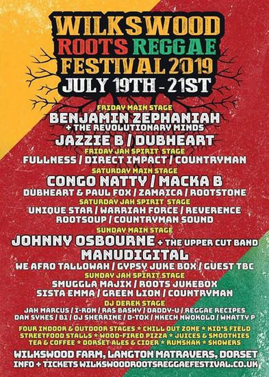 Wilkswood Roots Reggae Festival 2019