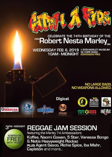 Bob Marley Birthday Celebration 2019