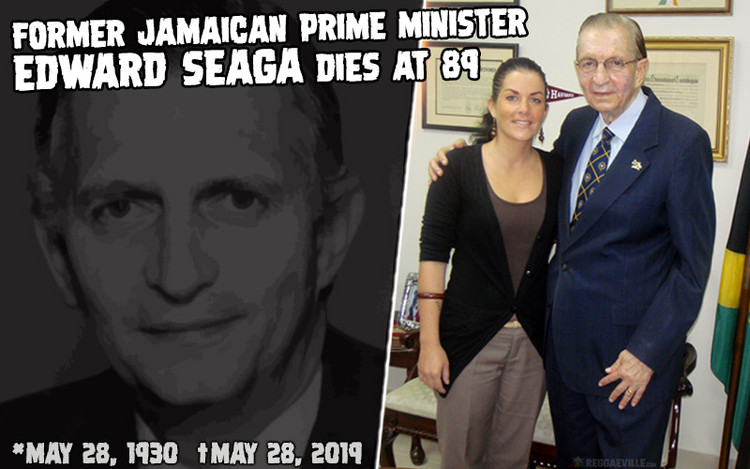 Former Jamaican Prime Minister Edward Seaga dies at 89