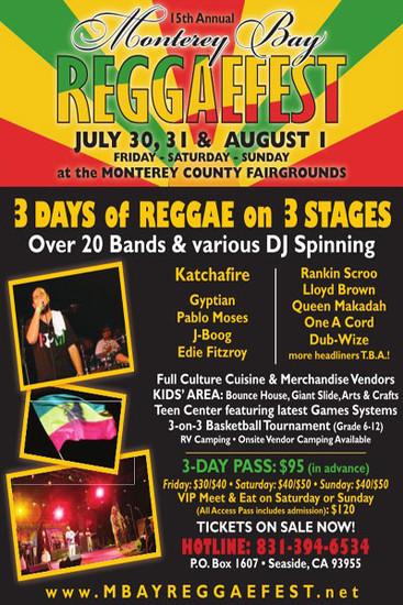 Monterey Bay Reggaefest 2010