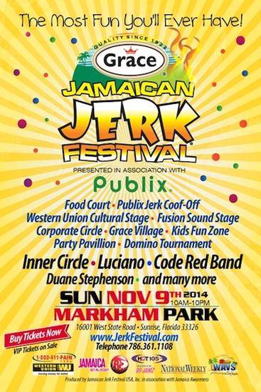 Jamaican Jerk Festival Florida 2014