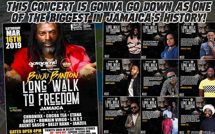 One of the Biggest Concerts in Jamaica's History - Buju Banton 2019