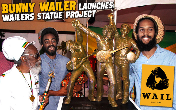 Bunny Wailer Launches The Wailers Statue Project