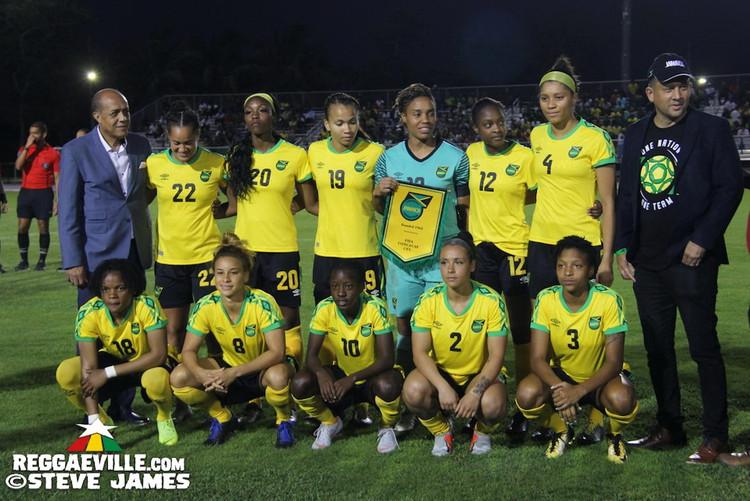 Jamaica Reggae Girlz - World Cup 2019 Send-Off Celebration