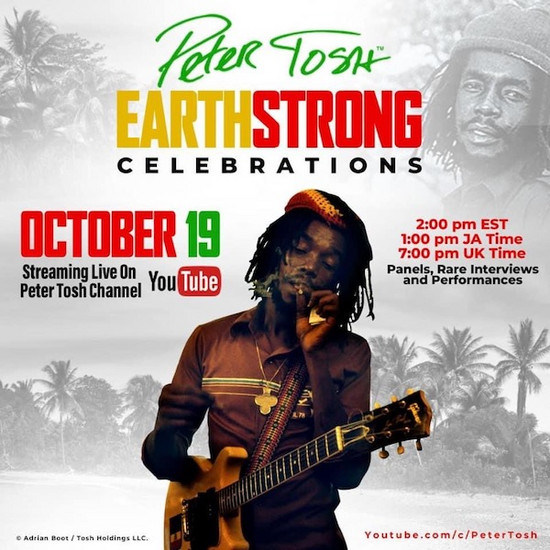 Peter Tosh Earthstrong Celebrations 2020