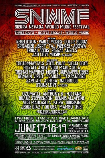 Sierra Nevada World Music Festival 2011