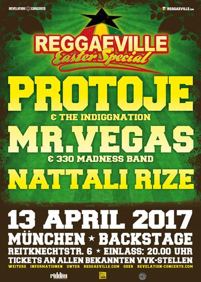 Reggaeville Easter Special - Munich 2017