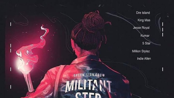 King Mas - Militant Step [10/25/2018]