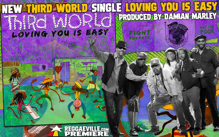 World Premiere: Third World - Loving You Is Easy (produced by Damian Marley)