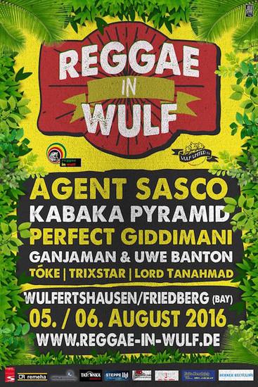 Reggae In Wulf 2016