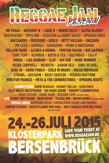 Reggae Jam 2015