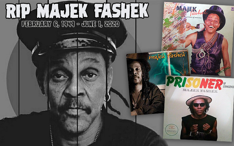RIP Majek Fashek - The Rainmaker