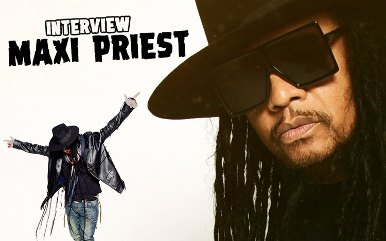 Interview with Maxi Priest - It All Comes Back To Love