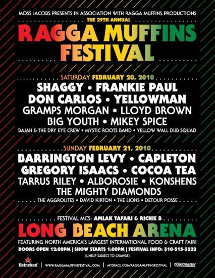 Ragga Muffins Festival 2010