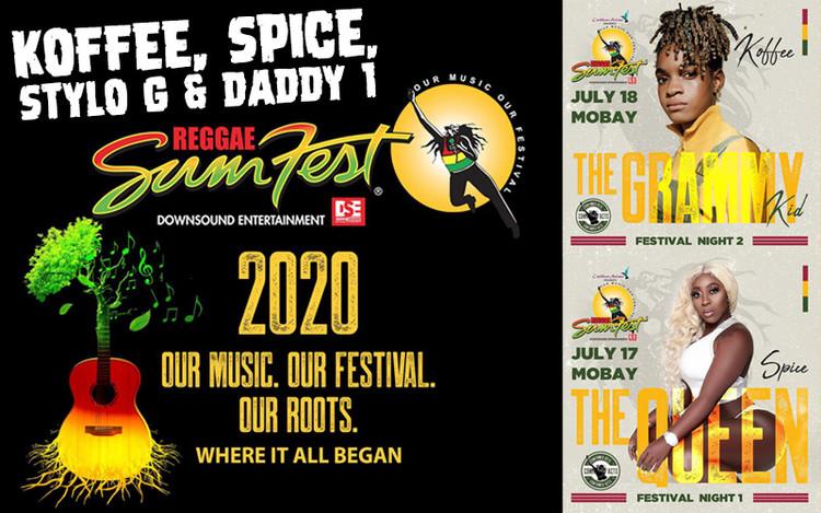 Koffee, Spice, Stylo G & Daddy 1 @Reggae Sumfest 2020