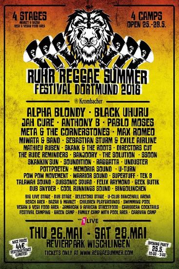 Ruhr Reggae Summer - Dortmund 2016