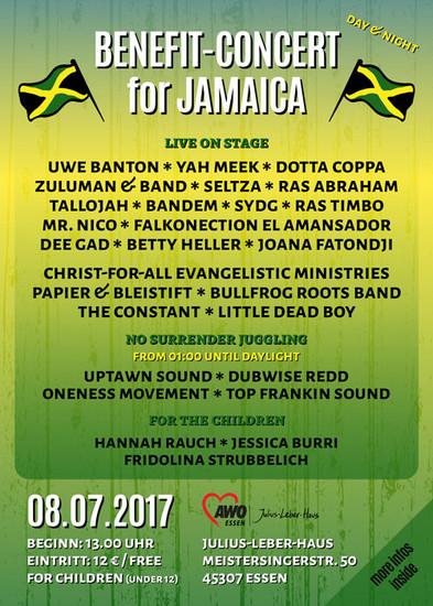 Benefit-Concert For Jamaica 2017