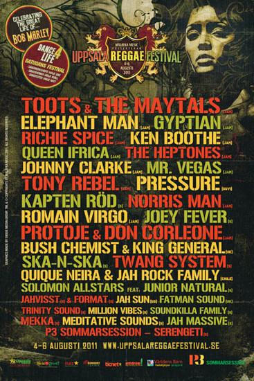Uppsala Reggae Festival 2011