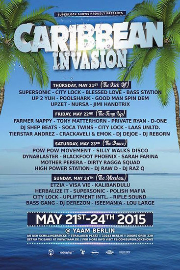 Caribbean Invasion 2015