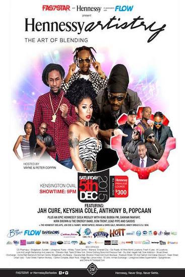 Hennessy Artistry Barbados 2015